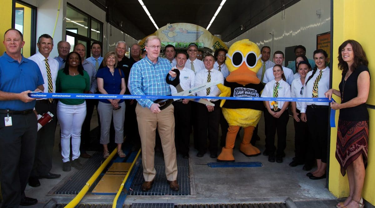 Ribbon Cutting at Quick Quack Car Wash in Coachella, CA